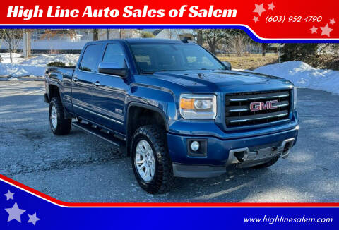2015 GMC Sierra 1500 for sale at High Line Auto Sales of Salem in Salem NH