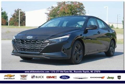 2021 Hyundai Elantra for sale at WHITE MOTORS INC in Roanoke Rapids NC