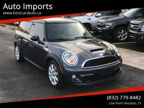 2012 MINI Cooper Clubman for sale at Auto Imports in Houston TX