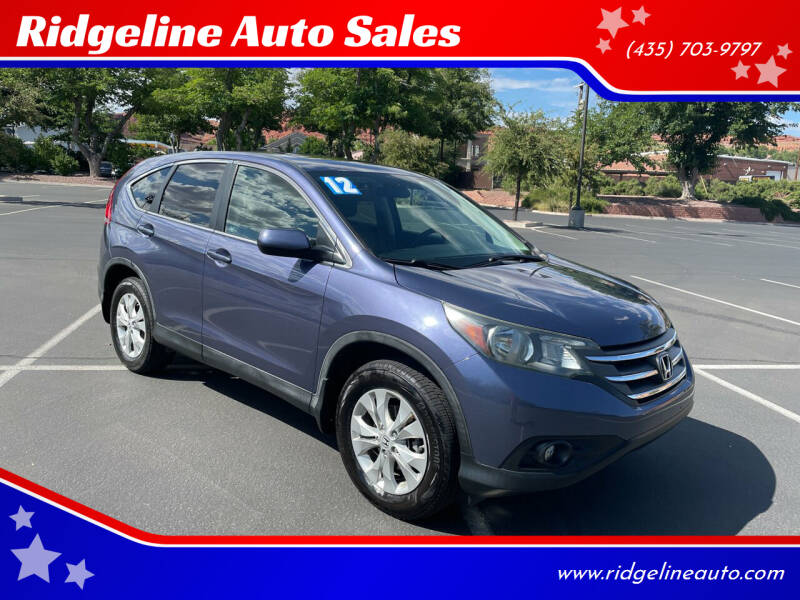 2012 Honda CR-V for sale at Ridgeline Auto Sales in Saint George UT