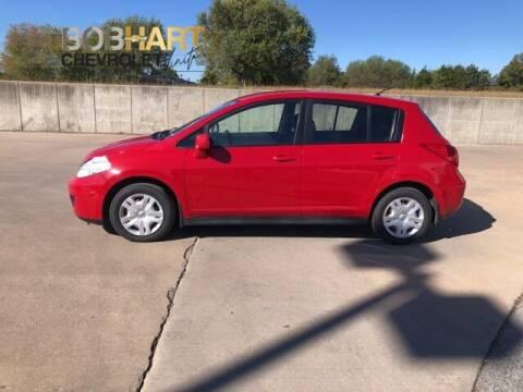 2012 Nissan Versa for sale at BOB HART CHEVROLET in Vinita OK