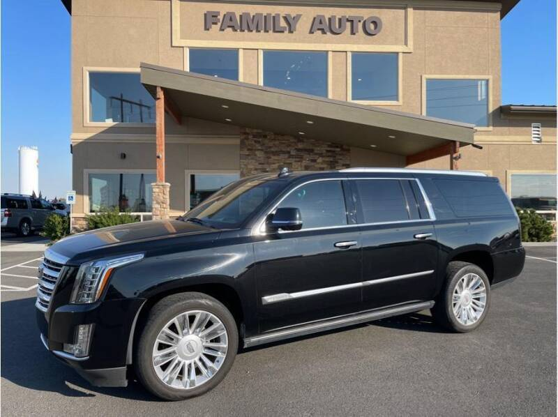 2015 Cadillac Escalade ESV for sale at Moses Lake Family Auto Center in Moses Lake WA