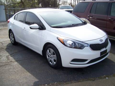2016 Kia Forte for sale at Collector Car Co in Zanesville OH