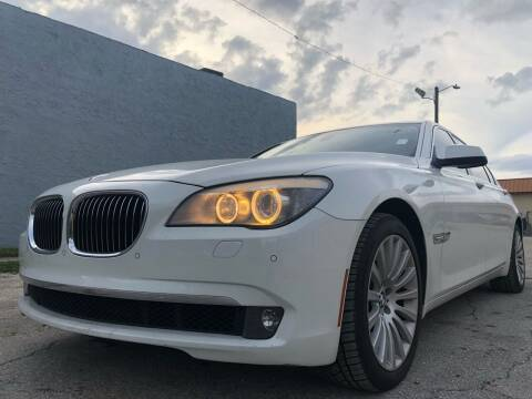 2012 BMW 7 Series for sale at Eden Cars Inc in Hollywood FL