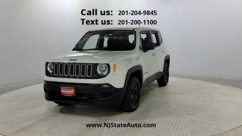 2016 Jeep Renegade for sale at NJ State Auto Used Cars in Jersey City NJ