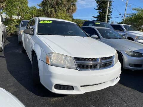 2014 Dodge Avenger for sale at Mike Auto Sales in West Palm Beach FL