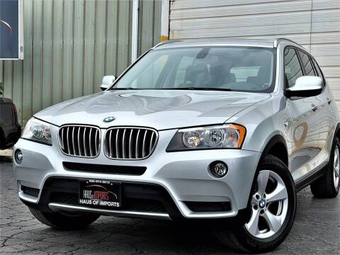 2012 BMW X3 for sale at Haus of Imports in Lemont IL