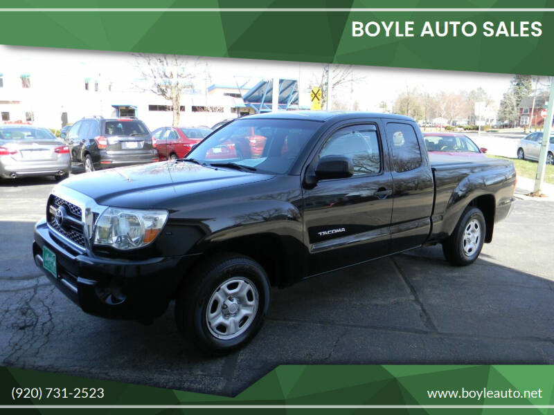 2011 Toyota Tacoma for sale at Boyle Auto Sales in Appleton WI
