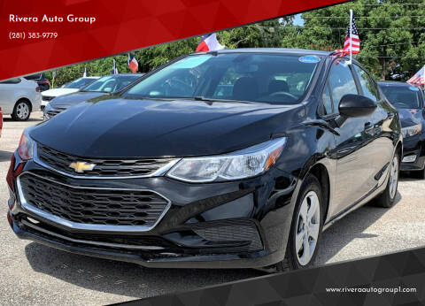 2017 Chevrolet Cruze for sale at Rivera Auto Group in Spring TX
