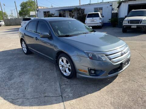 2012 Ford Fusion for sale at AMERICAN AUTO COMPANY in Beaumont TX
