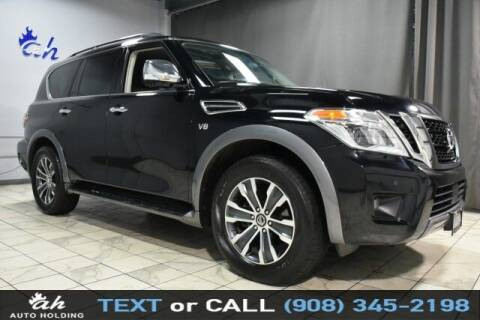 2019 Nissan Armada for sale at AUTO HOLDING in Hillside NJ