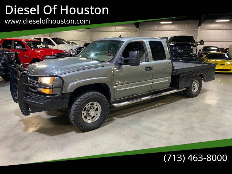 2006 Chevrolet Silverado 2500HD for sale at Diesel Of Houston in Houston TX