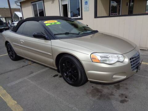 2006 Chrysler Sebring for sale at BBL Auto Sales in Yakima WA