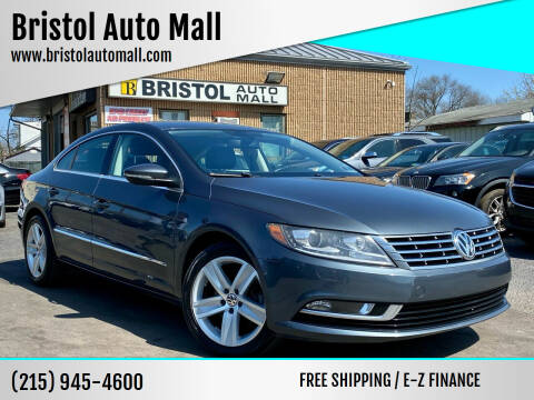 2013 Volkswagen CC for sale at Bristol Auto Mall in Levittown PA