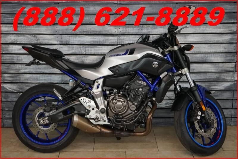 2016 Yamaha FZ-07 for sale at AZautorv.com in Mesa AZ