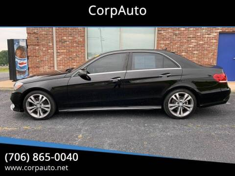 2014 Mercedes-Benz E-Class for sale at CorpAuto in Cleveland GA