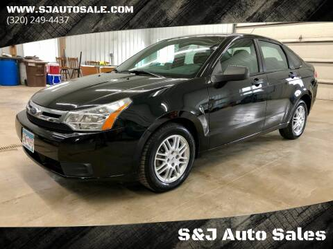 2011 Ford Focus for sale at S&J Auto Sales in South Haven MN