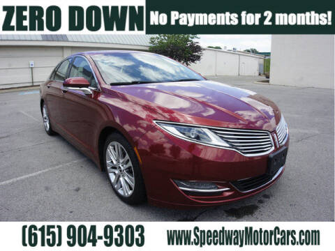 2015 Lincoln MKZ for sale at Speedway Motors in Murfreesboro TN