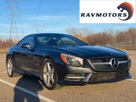 2015 Mercedes-Benz SL-Class for sale at RAVMOTORS in Burnsville MN