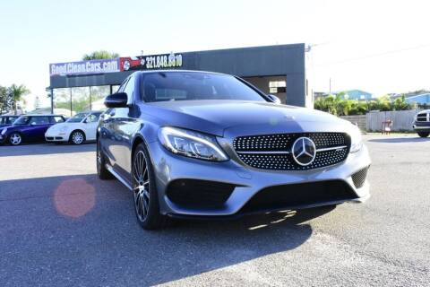 2018 Mercedes-Benz C-Class for sale at Good Clean Cars in Melbourne FL