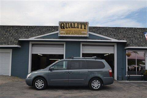 2009 Kia Sedona for sale at Quality Pre-Owned Automotive in Cuba MO