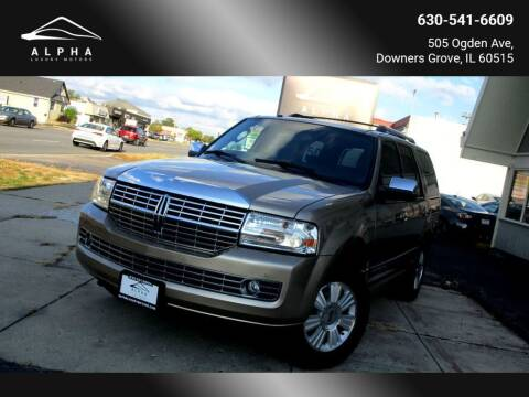 2014 Lincoln Navigator for sale at Alpha Luxury Motors in Downers Grove IL