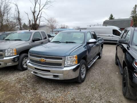 2013 Chevrolet Silverado 1500 for sale at Clare Auto Sales, Inc. in Clare MI