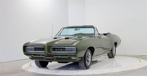 1968 Pontiac GTO for sale at Mershon's World Of Cars Inc in Springfield OH