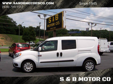 2017 RAM ProMaster City Cargo for sale at S & B MOTOR CO in Danville VA