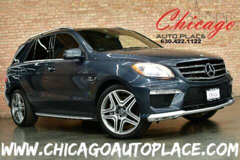 2012 Mercedes-Benz M-Class for sale at Chicago Auto Place in Bensenville IL