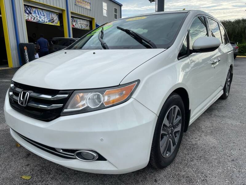 2016 Honda Odyssey for sale at RoMicco Cars and Trucks in Tampa FL
