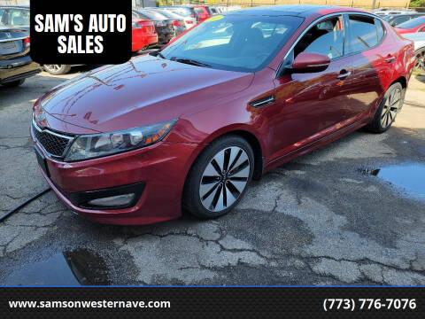 2011 Kia Optima for sale at SAM'S AUTO SALES in Chicago IL