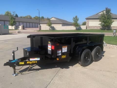 2022 Big Tex 70SR-10 Dump Box #2728