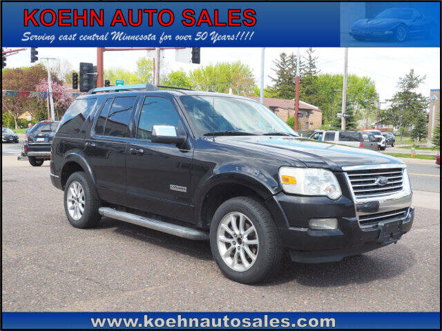 2006 Ford Explorer for sale at Koehn Auto Sales in Lindstrom MN