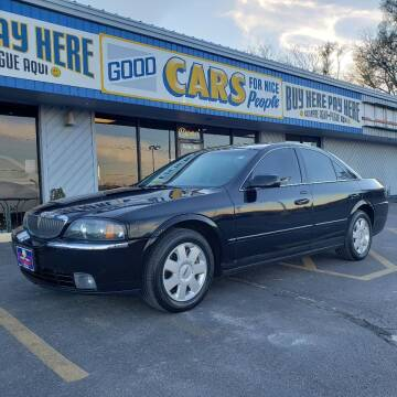 2004 Lincoln LS for sale at Good Cars 4 Nice People in Omaha NE