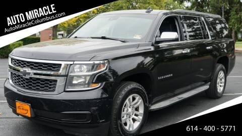 2015 Chevrolet Suburban for sale at Auto Miracle in Columbus OH