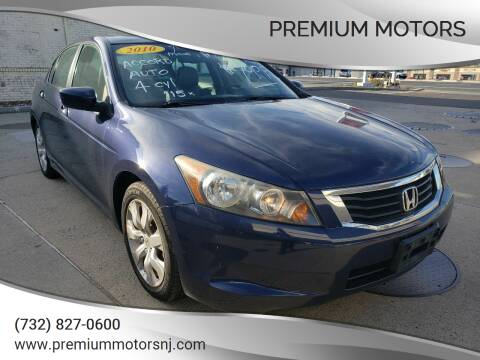 2010 Honda Accord for sale at Premium Motors in Rahway NJ