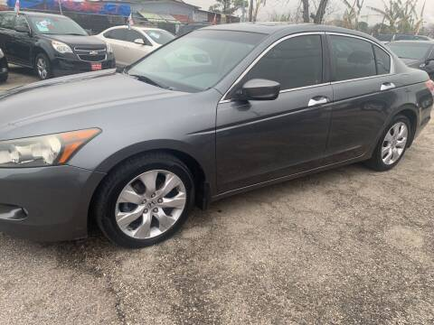 2008 Honda Accord for sale at FAIR DEAL AUTO SALES INC in Houston TX
