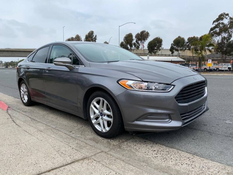 2014 Ford Fusion for sale at Beyer Enterprise in San Ysidro CA