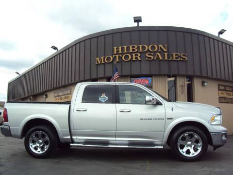 2011 RAM Ram Pickup 1500 for sale at Hibdon Motor Sales in Clinton Township MI