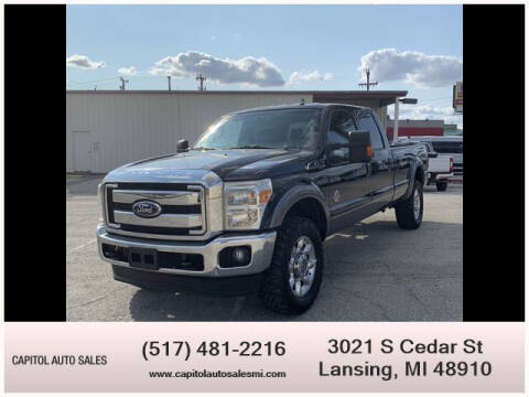 2012 Ford F-250 Super Duty for sale at Capitol Auto Sales in Lansing MI