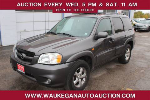 2005 Mazda Tribute for sale at Waukegan Auto Auction in Waukegan IL