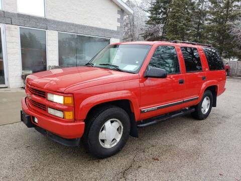 2000 Chevrolet Tahoe Limited/Z71 for sale at Anytime Auto in Muskegon MI