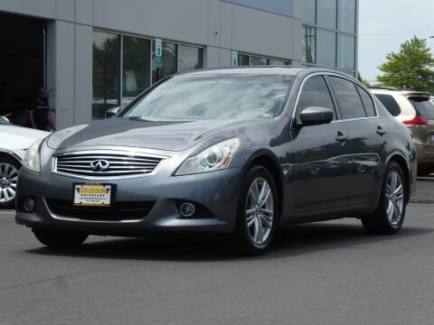 2012 Infiniti G25 Sedan for sale at Loudoun Used Cars - LOUDOUN MOTOR CARS in Chantilly VA