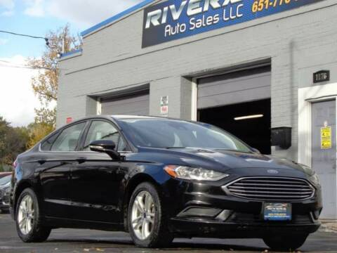 2018 Ford Fusion for sale at Rivera Auto Sales LLC in Saint Paul MN