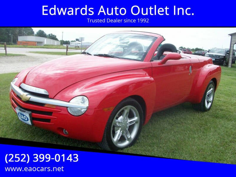 2004 Chevrolet SSR for sale at Edwards Auto Outlet Inc. in Wilson NC