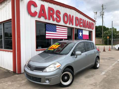 2012 Nissan Versa for sale at Cars On Demand 2 in Pasadena TX