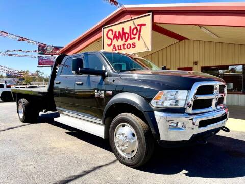 2015 RAM Ram Chassis 5500 for sale at Sandlot Autos in Tyler TX