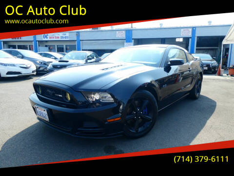 2013 Ford Mustang for sale at OC Auto Club in Midway City CA