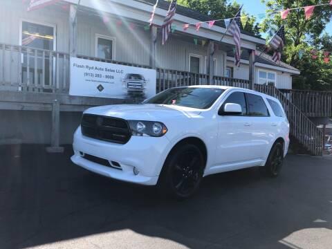 2013 Dodge Durango for sale at Flash Ryd Auto Sales in Kansas City KS